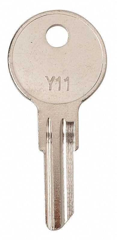 Yale Lockset Key Blank,No Y11-O1122 Kaba Ilco Corp,PK10
