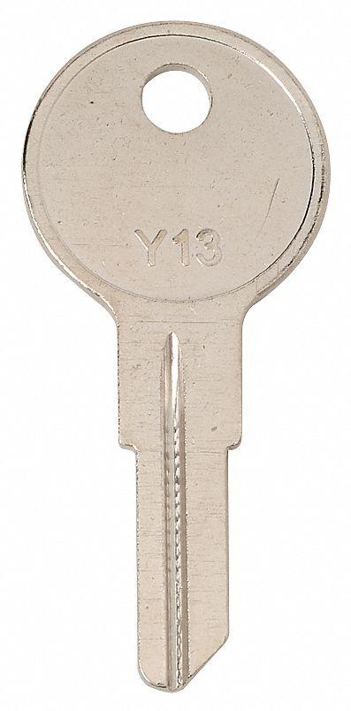 Key Blank,Brass,Type AP2,6 Pin,PK10 KABA ILCO 102AM-AP2