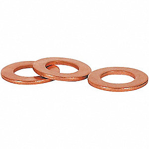 Sealing Washer,Copper,26mm OD,PK25