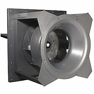 Plug Fan,27 In,1 HP,208-230/460 V
