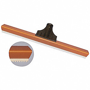 SQUEEGEE,BROWN/WHITE,18 IN. L,POLYM