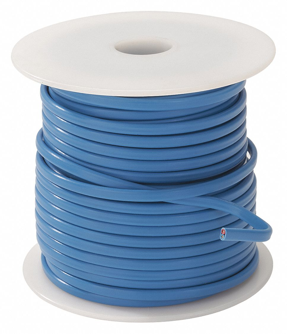 GRAINGER APPROVED 50 ft. Solid, Polyvinyl T Wire Thermocouple Wire ...