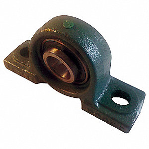 MOUNTED BRG,PILLOW BLOCK,DIA 1-3/8