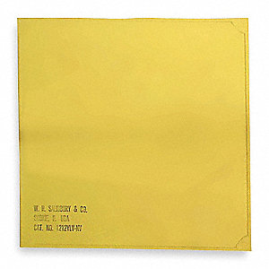 Insulating Blanket,Yellow,3 Ft x 3 Ft