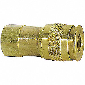 Brass Universal Quick Coupler Body