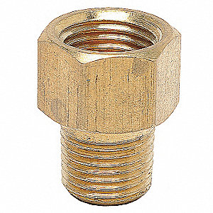 "Male Connector, Flare x MNPT Connection Type, 1/4"" Tube Size, 10PK"