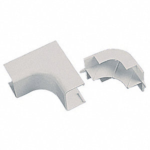 PVC Inside Corner For Use With LDPH5 and LDS5 Raceways, Off White