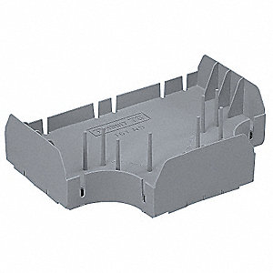 PVC Tee Divider Insert For Use With LD Raceway, Gray