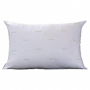 "28"" x 20"" Jumbo Recycled Polyfiber Fill Pillow, White"