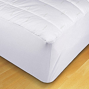 Twin Recycle Cotton Cove Poly Fill Mattress Pad