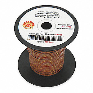 Awg solid wire size wire center tempco 100 ft solid fiberglass k wire thermocouple wire with 20 rh grainger com stranded wire awg sizes awg wire gauge size chart greentooth Choice Image