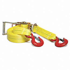 Tie-Down Strap,Ratchet,16ft x 2In,3670lb
