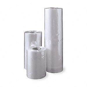 "Heat Activated Shrink Film, 0.75 mil PVC, 15"" Roll Width, 2000 ft."