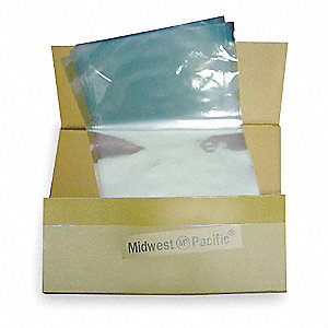 Heat Activated Shrink Bag,8 In. W,PK500