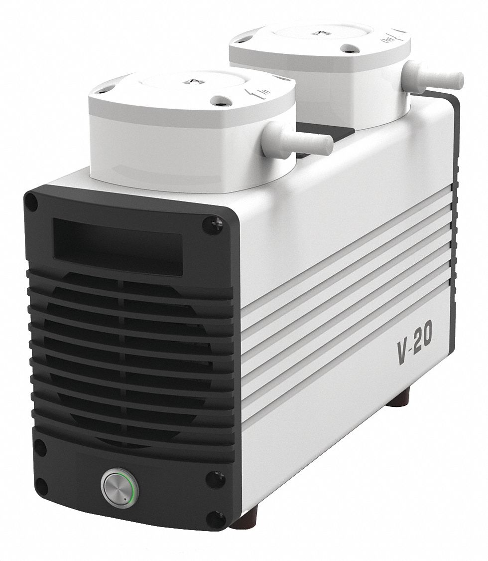 Dual-Stage Diaphragm Vacuum Pump
