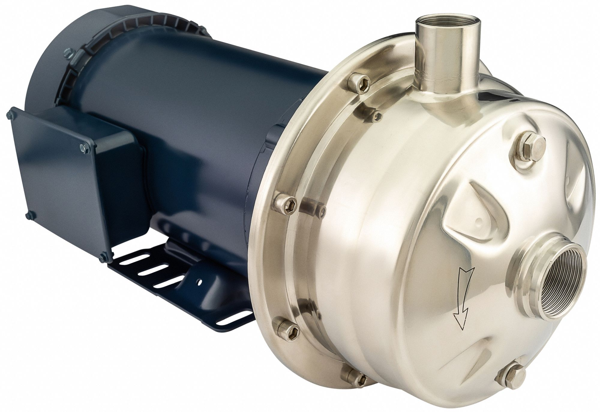 208 to 230/460VAC Totally Enclosed Fan-Cooled Straight Center Discharge Pump, 3-Phase, 1.25 in NPT I