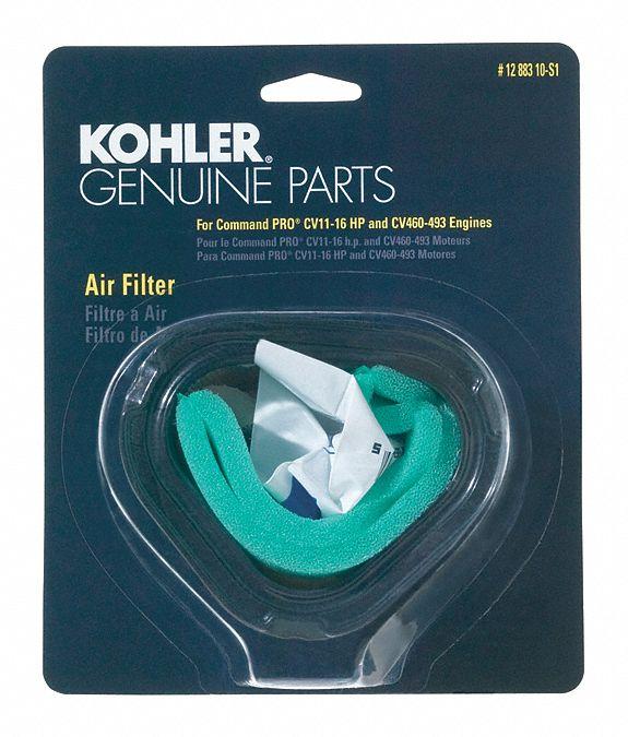 3 KOHLER AIR FILTER PRE CLEANER KIT 12 083 10-S1 CV11 12 883 10-S1