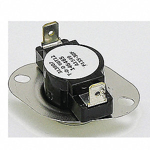 Limit Switch, 105° to 135°F, Auto Fan,  Fits Brand Reznor