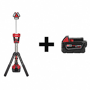 Cordless Job Site Light Kit,18.0V