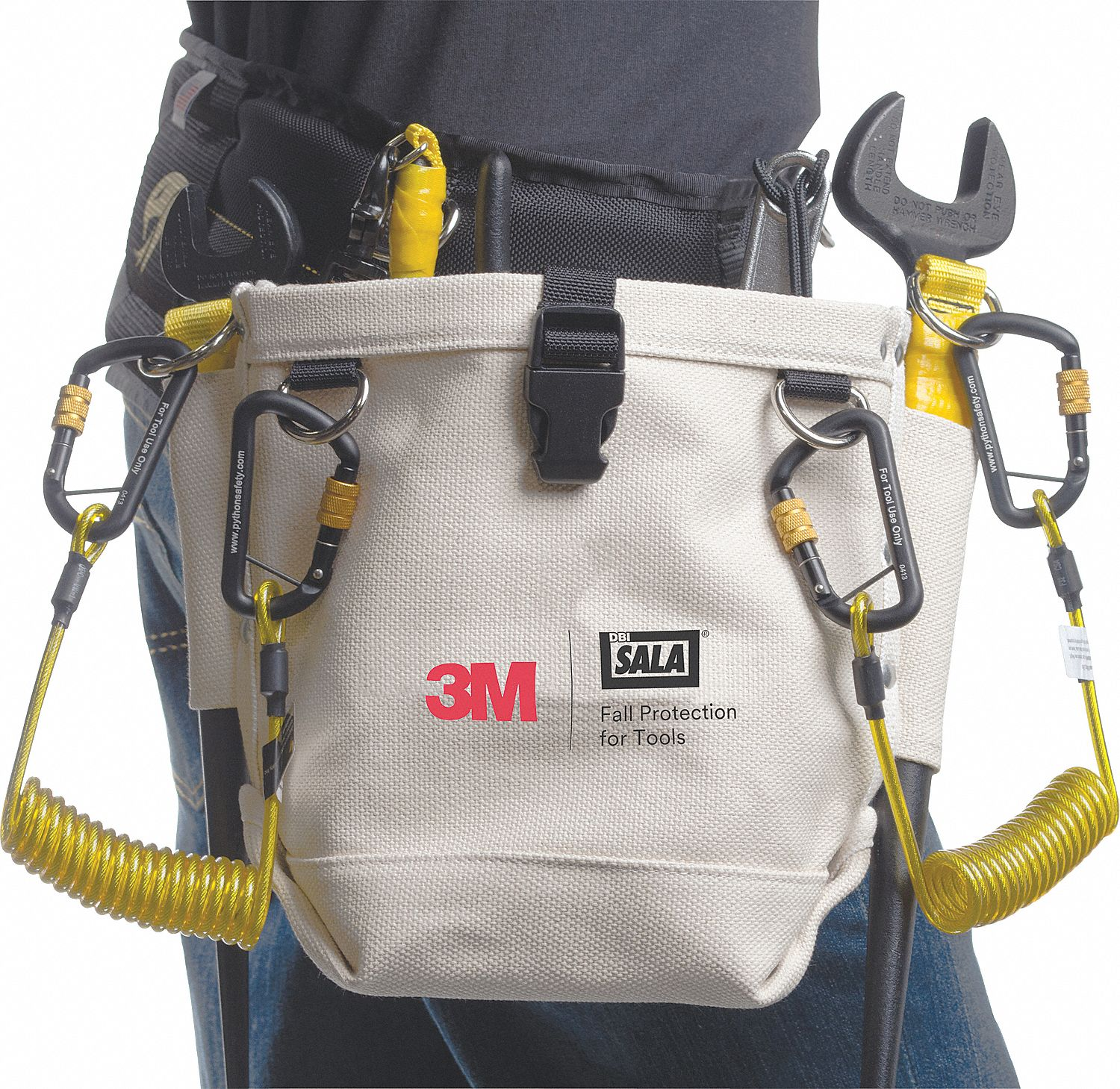 Utility Pouch,  Container,  Coiled,  Not Rated Weight Capacity