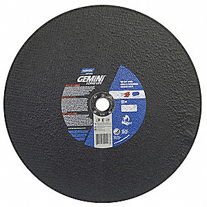 "16"" Cut-Off Wheel, 7/64"" Thickness, 1"" Arbor Hole"
