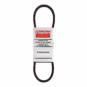 BX35 Cogged V-Belt, Outside Length 38""
