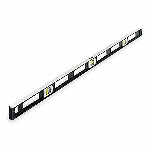 "Magnetic, Aluminum I-Beam Level, 48"" Length, Top Read: Yes"