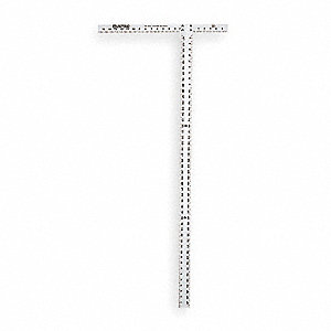 drywall square. drywall t square,47 7/8 in,alum square w