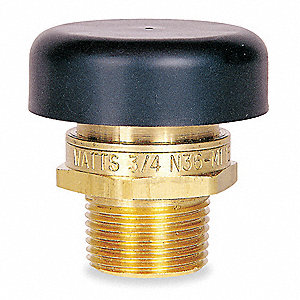 Brass Vacuum Relief Valve, MNPT Inlet Type, MNPT Outlet Type