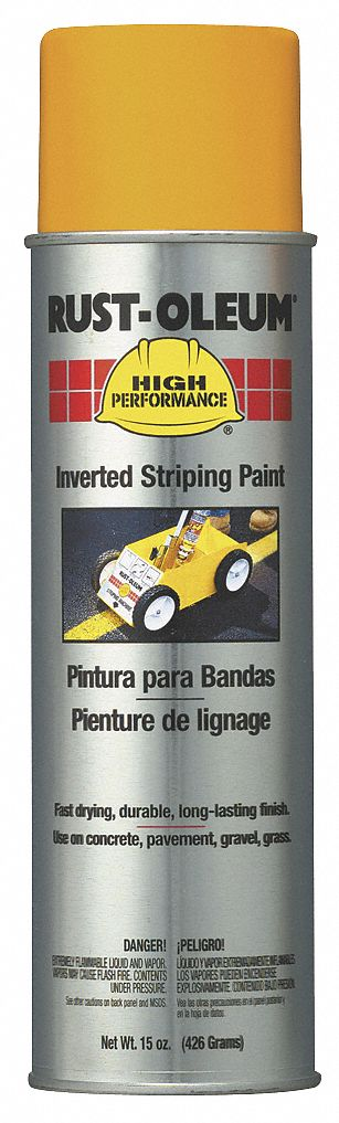 Solvent-Base Inverted Striping Paint, Yellow