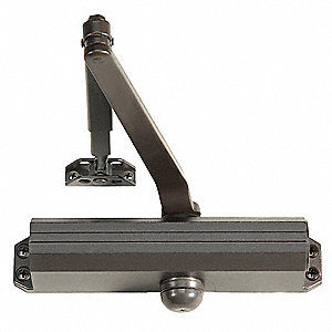 Hydraulic, Standard Duty, Non-Handed, Dark Bronze Door Closer