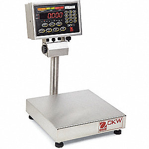 6kg/15 lb. Digital LED Compact Bench Scale