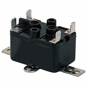 Enclosed Fan Relay,SPST,120V Coil