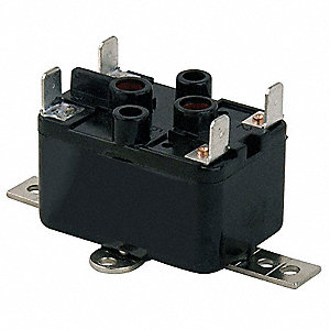 Enclosed Fan Relay,SPST,208/240V Coil