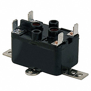 Enclosed Fan Relay, SPST, 277V Coil