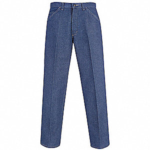 "Blue Pants, Excel FR™, Fits Waist Size: 40-3/8"", 32"" Inseam, 20.7 cal./cm2 ATPV Rating"