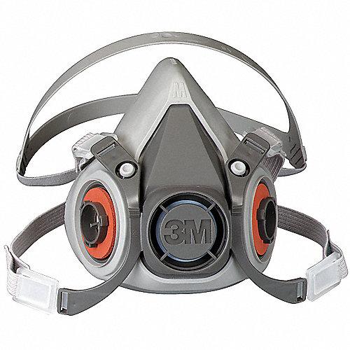 53961e55223f1 3M Respirador Media Másc,M,Conex. Bayoneta - Respiradores de Media ...