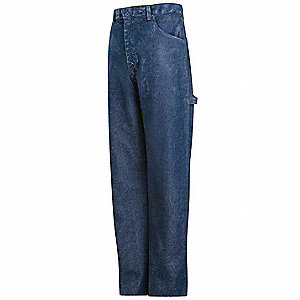 Pants,Blue,Excel FR(TM),44 x 34 In.