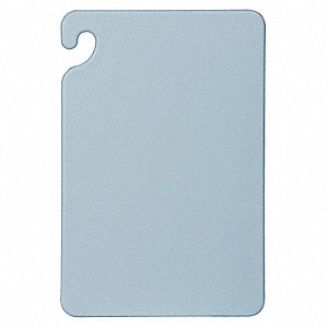 "12"" x 18"" Co-Polymer Cutting Board, Blue"