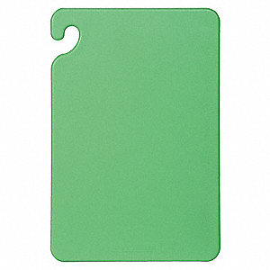 "Green Co-Polymer Cutting Board, 12"" x 18"" x 1/2"""