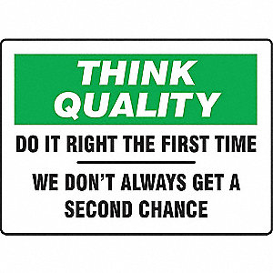 "Safety Incentive and Motivational, No Header, Vinyl, 7"" x 10"", Adhesive Surface, Not Retroreflective"