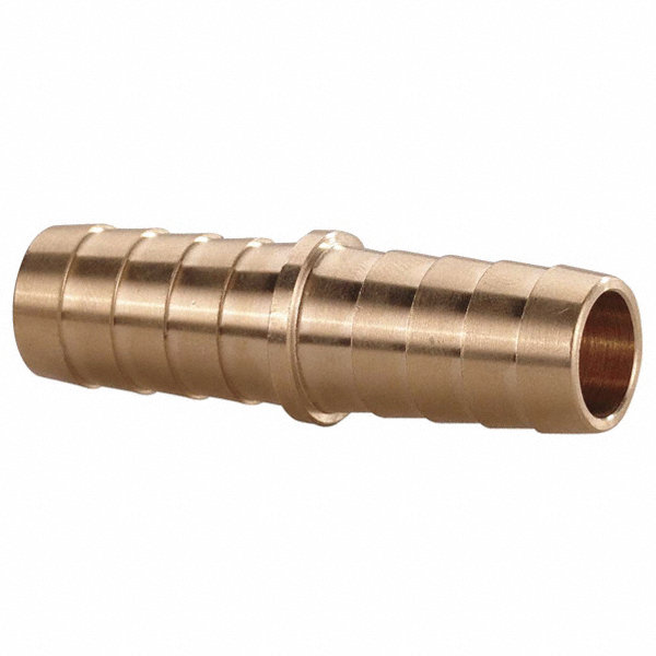 Grainger Approved Brass Hose Mender With Straight Fitting