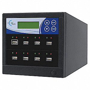 USB Duplicator, 7 Target USB Duplication Capacity, USB Series