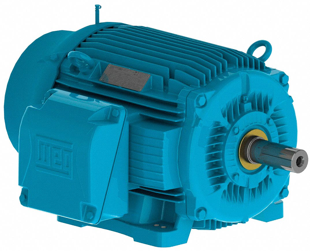 WEG 15 HP IEEE 841 Motor,3-Phase,1765 Nameplate RPM,Voltage 460 ...