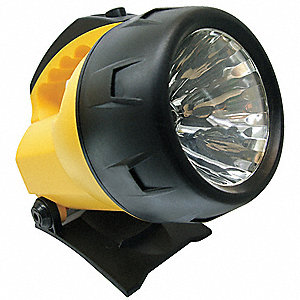 Krypton Industrial Lantern, Polymer, Yellow, 7.00""
