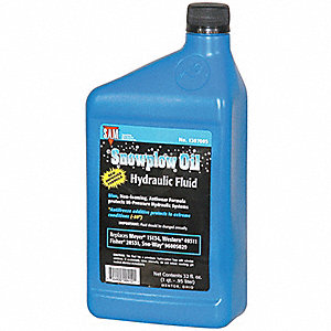 Oil, Hydraulic Oil, 1 qt. Container Size, Package Quantity 12