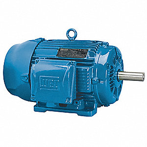 15 HP General Purpose Motor,3-Phase,1765 Nameplate RPM,Voltage 208-230/460,Frame 254T