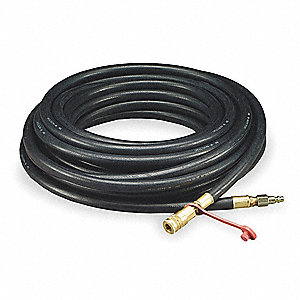 Airline Hose,100 ft. L,3/8 In. Dia.