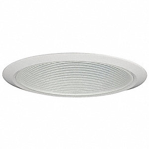 Recessed Trim,White Baffle,Narrow Flange