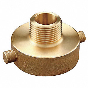 Fire Hose Pin Lug Adapter, Nonswivel Adapters Fittings Sub-Category, FNST x GHT Male Connection Type